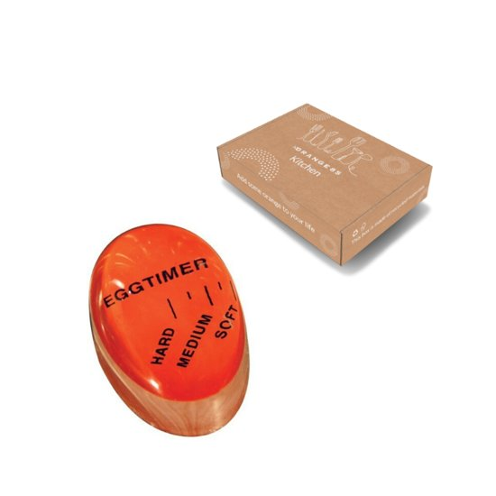 Eierwekker rood | NL | perfect ei koken | eierkoker