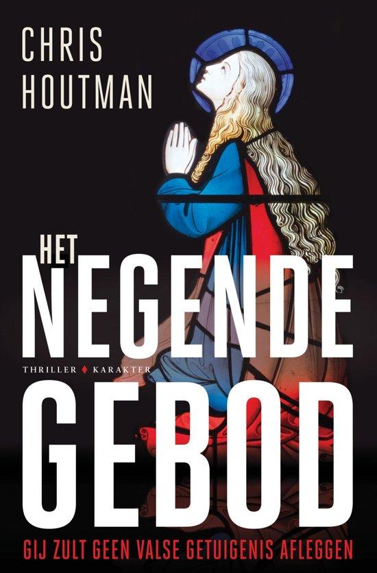 Boek cover Het negende gebod van Chris Houtman (Onbekend)