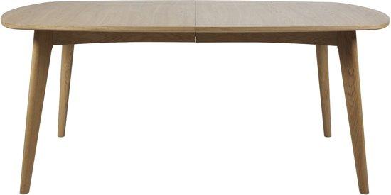 Uittrekbare Eiken Tafel.Bol Com 24designs Uitschuifbare Tafel Nadine 180 270x102x76 Cm