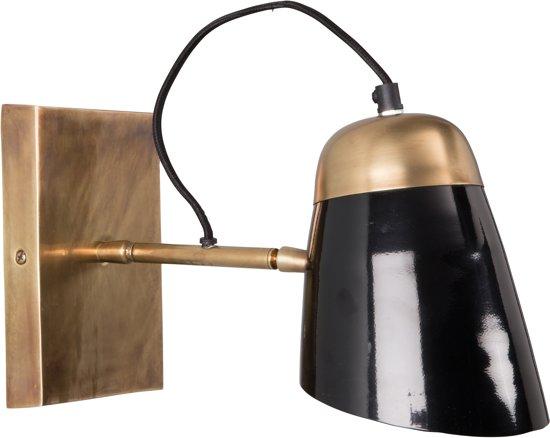 Dutchbone Old School Wandlamp - Zwart
