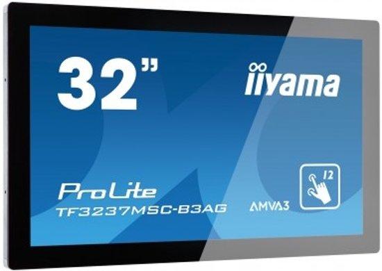 iiyama ProLite TF3237MSC-B3AG 31.5'' 1920 x 1080Pixels Multi-touch Capacitief Zwart touch screen-monitor