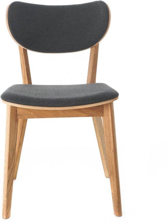2e Hands Houten Stoelen.Nordiq Cato Chair Houten Stoel Donkergrijs