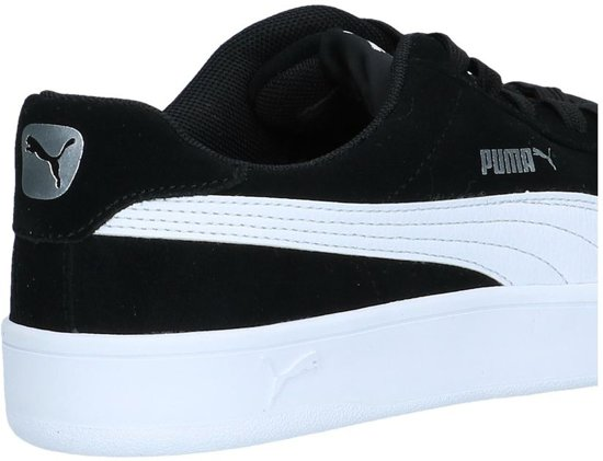 43 Unisex Court Maat wit Puma Breaker Derbysneakers Zwart 6wOxC68