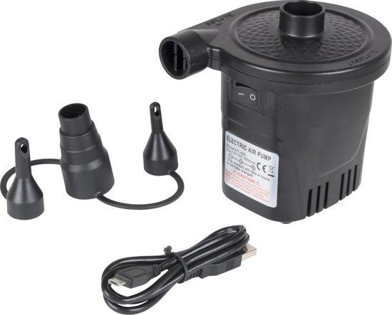 Bo-Camp Elektrische Pomp - Oplaadbaar - USB - 4000 Mah -  250ltr/min
