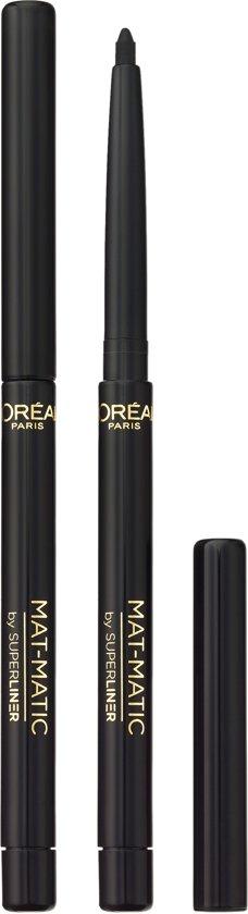 L'Oréal Paris SuperLiner Mat Matic Eyeliner - 01 Ultra Black