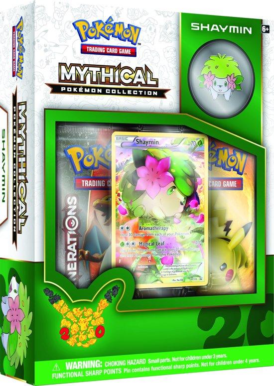 Pokemon Kaarten 20th Anniversary Tin box 06 Shaymin