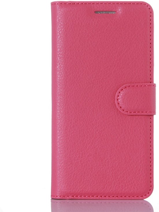 Xiaomi Mi 5 Book Case Cover Lychee - Roze in Tildonk