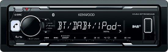 Kenwood KMM-BT502DAB - Autoradio Enkel DIN - DAB+ - USB - Bluetooth