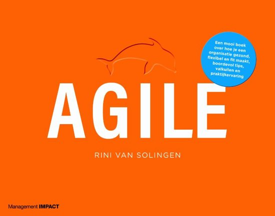 Boek cover Agile van Rini van Solingen (Hardcover)