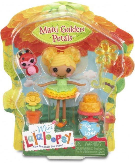 Mini Lalaloopsy Pop Mari Golden Petals