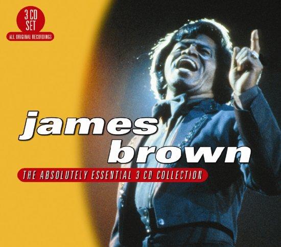 CD cover van Absolutely Essential 3 Cd Collection van James Brown