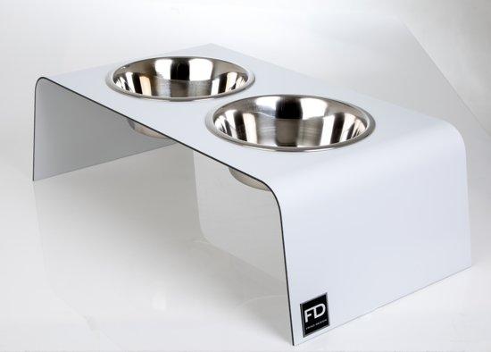 Design Voor Honden : Super design voerbak hond hoog wit archidev