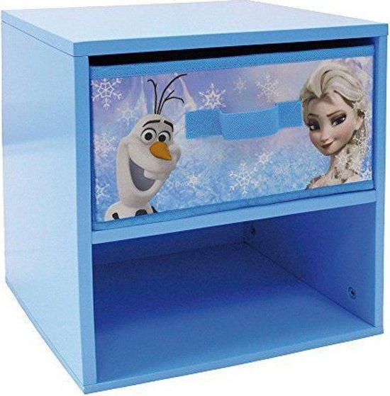 Mickey Mouse Nachtkastje.Bol Com Disney Nachtkastje Frozen Meisjes Blauw 33 X 30 X 36 Cm