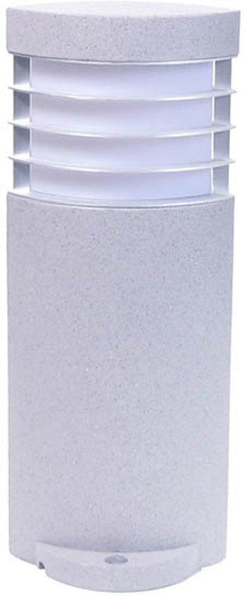 Fin-Motion buitenlamp - sokkelmodel - type 21505 - kleur grijs - materiaal polystone
