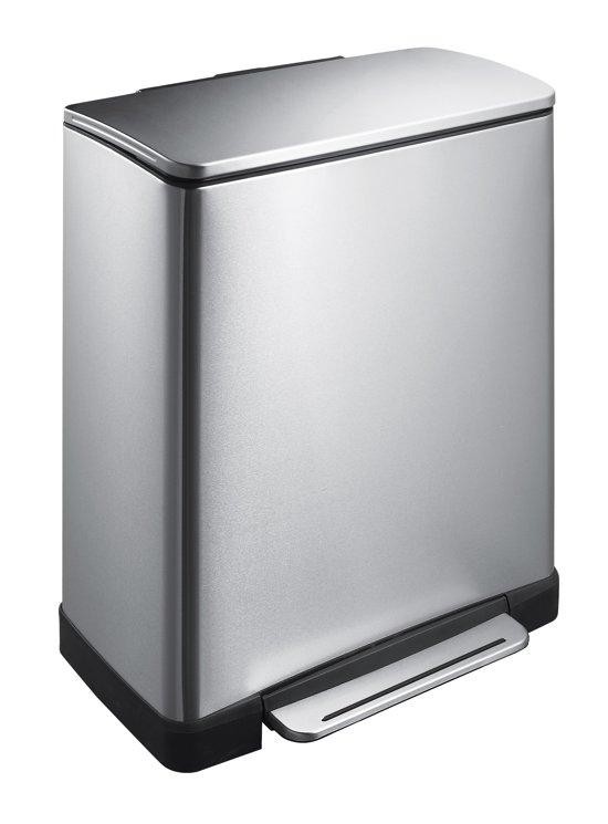 EKO E-Cube 28+18 Liter Mat RVS