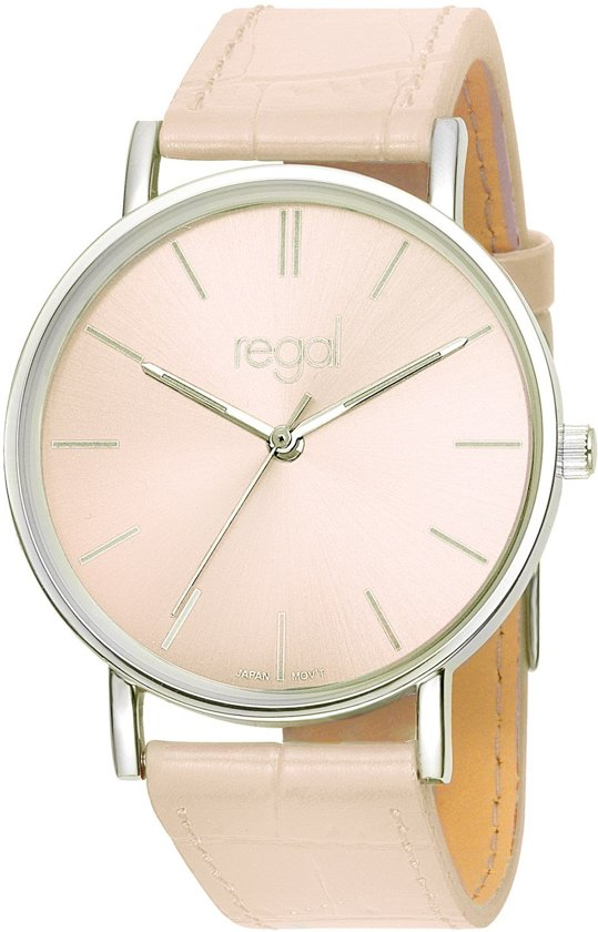 Regal Slimline R16280-17 - Horloge - Roze
