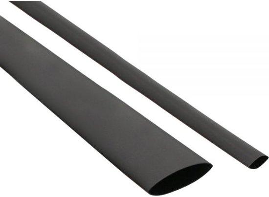 InLine 20x Krimpkous zwart 200 mm - 1 mm naar 0,5 mm