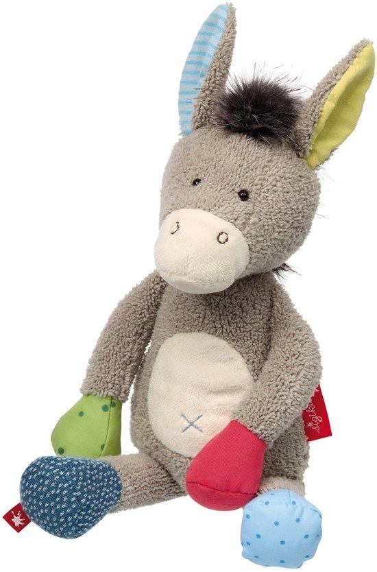 sigikid Patchwork Sweety knuffel ezel 38845