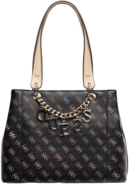 | GUESS Kamryn Black Shopper HWSQ66 91360 BLA
