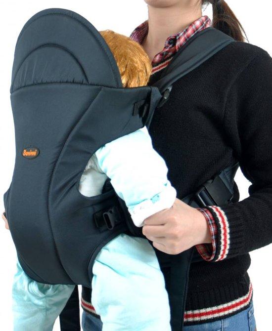 baby draagzak-buikdrager Sacco Buikdrager - SEA GREEN