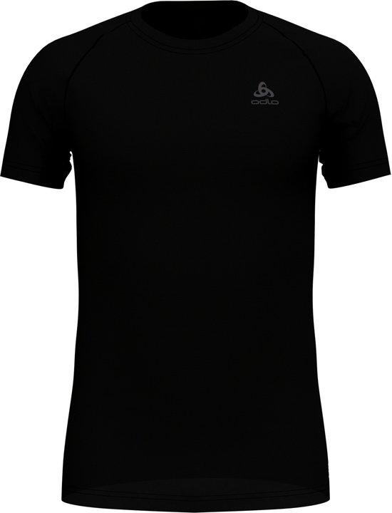 HerenBlack Active Top Neck dry Odlo Sportshirt Crew S F Light Suw s mwyvON8nP0