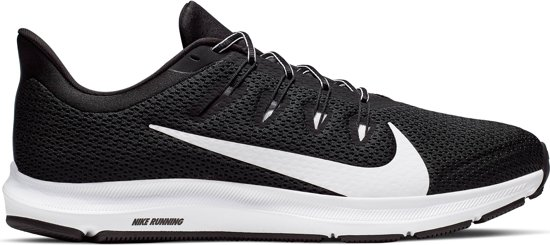 Nike Quest 2 Heren Sportschoenen - Black/White - Maat 44