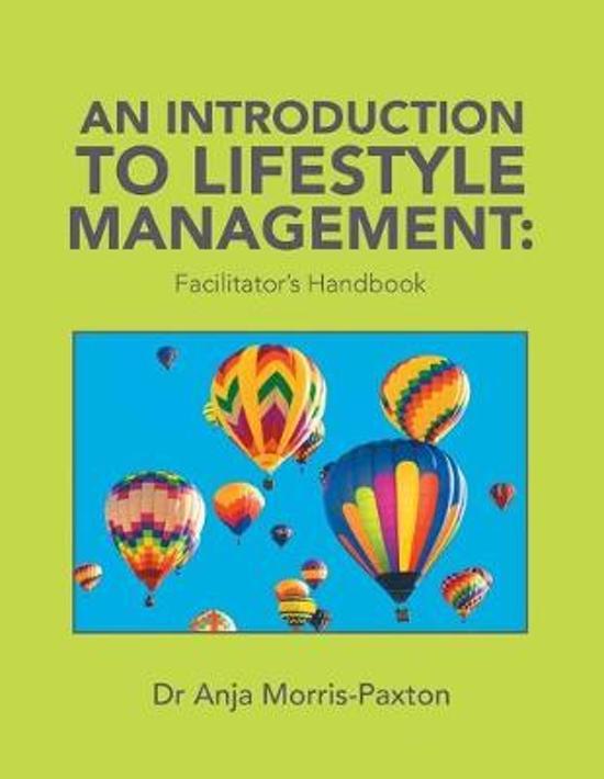 An Introduction to Lifestyle Management: : Facilitator's Handbook