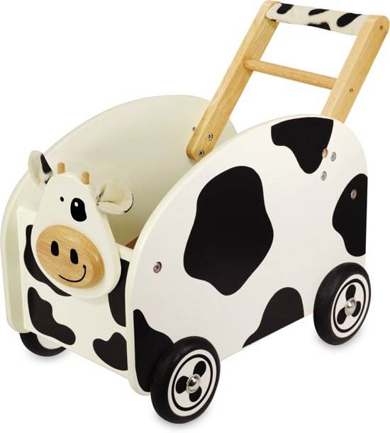 I'm Toy Loop/duwwagen Speelkist Koe