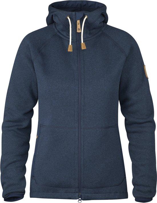 Fjällräven Övik Fleece Hoodie W Vest Dames - Navy