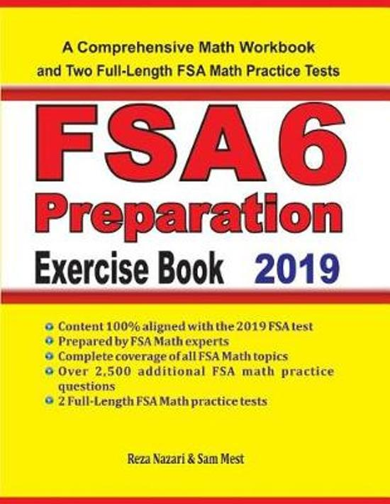 FSA 6 Math Preparation Exercise Book