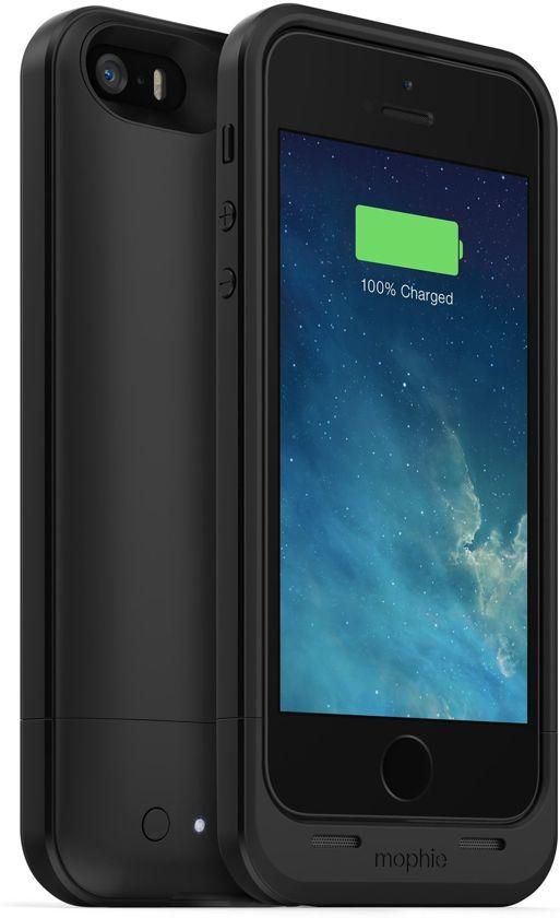 mophie juice pack air iPhone 5 & 5S 1700mAh Batterij Case Black