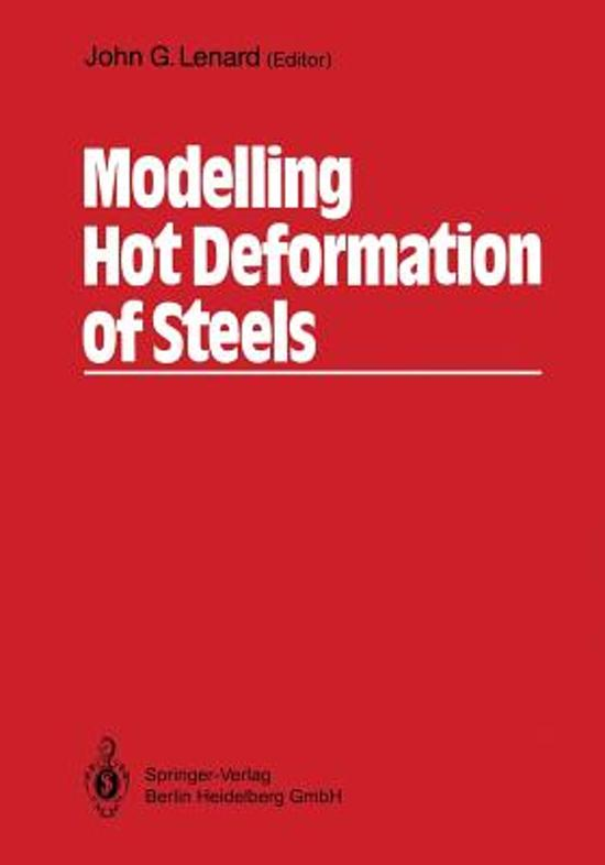Modelling Hot Deformation of Steels