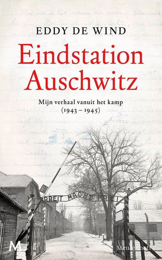 Boek cover Eindstation Auschwitz van Eddy de Wind (Hardcover)