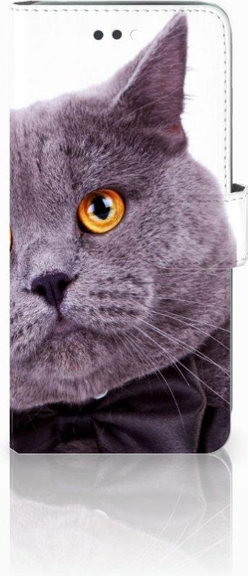 Apple iPhone 7 Plus Uniek Design Telefoonhoesje Kat in Steenhuize-Wijnhuize