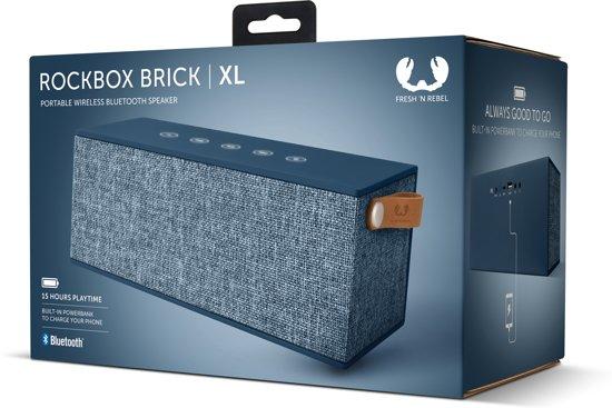 Fresh 'n Rebel Rockbox Brick XL Blauw