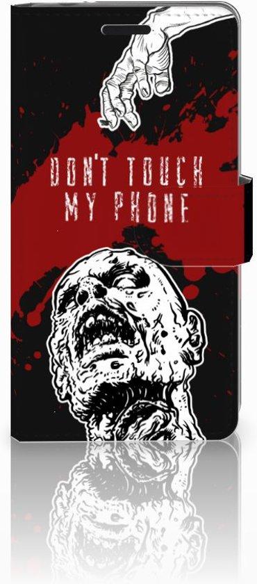 Sony Xperia E3 Bookcase Design Zombie Blood