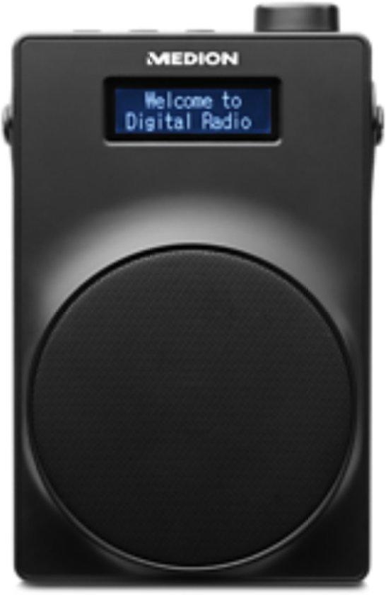 MEDION® LIFE E66880 Draagbare DAB+ Radio (zwart)