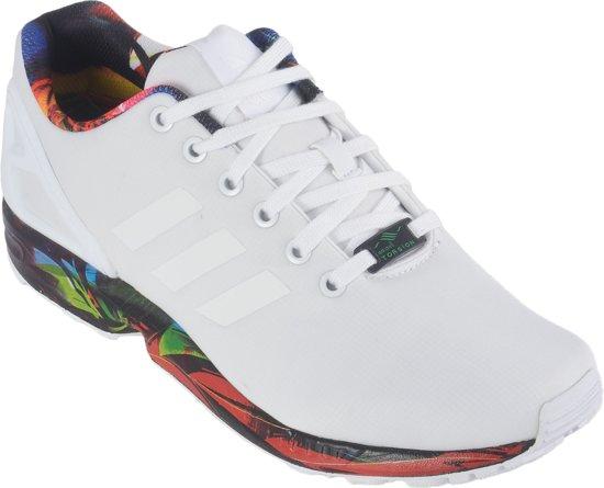 adidas zx flux zwart wit heren