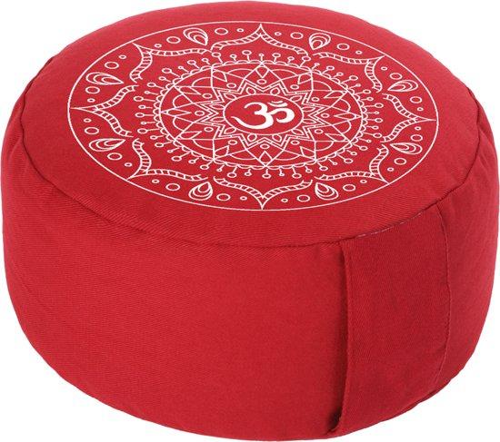 Meditatiekussen Mandala Rood