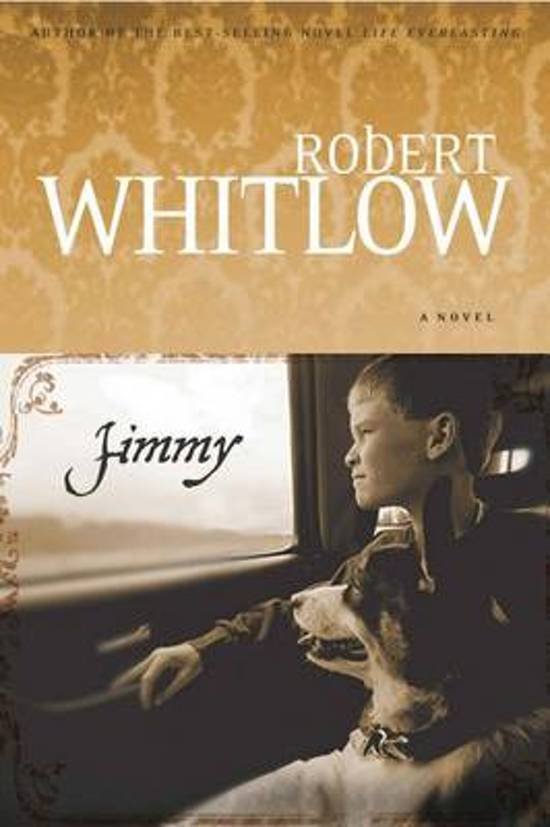 Boek cover Jimmy van Robert Whitlow (Onbekend)