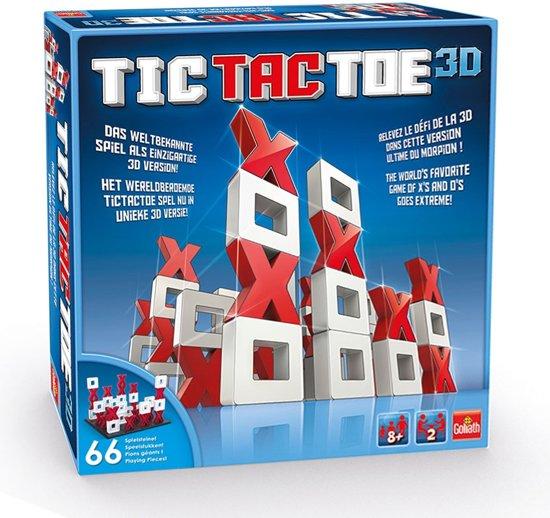 Tic Tac Toe 3D - Boter Kaas en Eieren 3D - Goliath