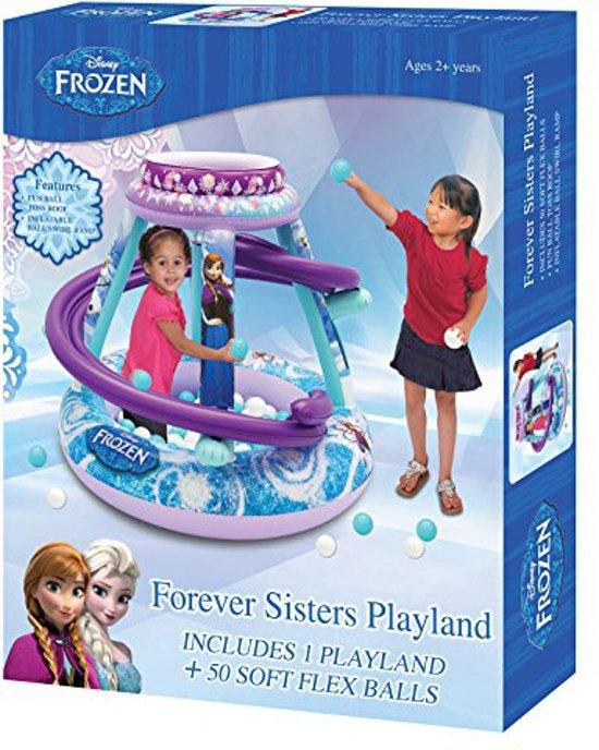 Disney Frozen Opblaasbare Ballenbak - 50 Ballen