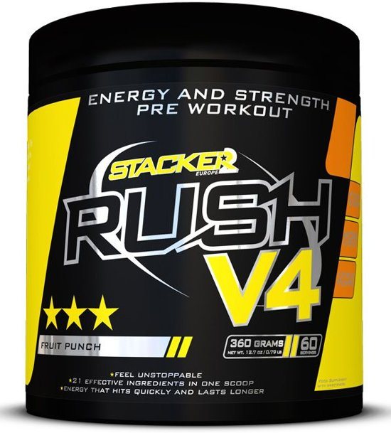 Stacker 2 Rush V4 60 servings-Lemon
