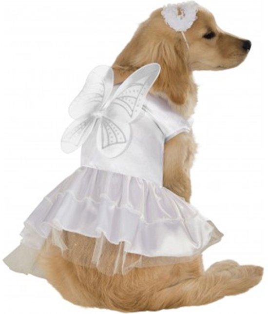 Angel - Kostuum voor dieren - Maat S