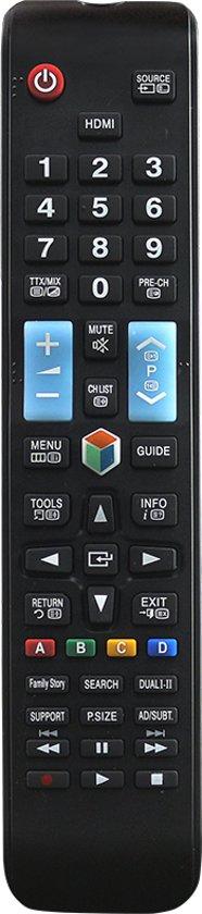 Universele afstandsbediening voor alle Samsung TV's | LCD| LED| 3D | 4K | SMART | QLED |