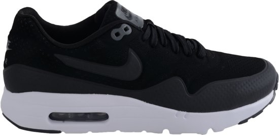 nike air max 1 zwart heren