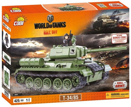 Army Tanks For Sale >> bol.com | Small Army World of Tanks - T-34/85 (3005)Cobi ...