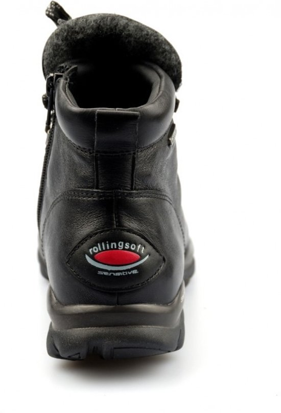waterdicht Gabor 27 955 96 Zwart Lederen Voor Enkellaars Rollingsoft Dames W6rq8wC6xt