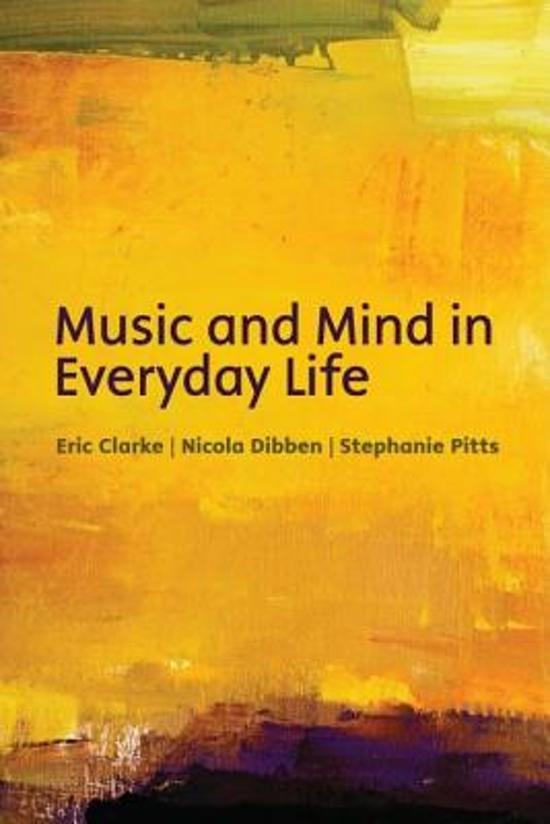 music in our everyday lives Importance of music in my life march 11 the effect that music can have on our emotions is tremendous really importance of music in very much.