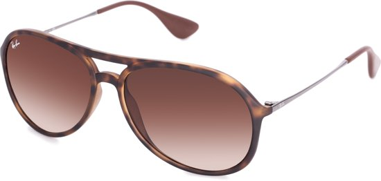 2f89232789 Ray-Ban RB4201 865 13 - Alex - zonnebril - Tortoise-Staalgrijs